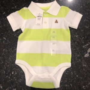 Baby gap cotton polo onesie